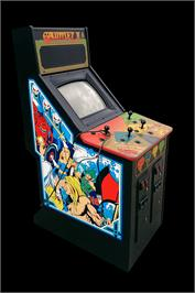 Arcade Cabinet for Gauntlet II.