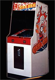 Arcade Cabinet for Gee Bee.