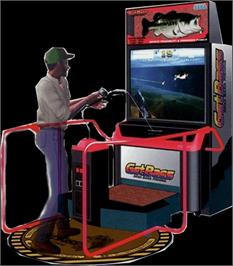 Arcade Cabinet for Get Bass.