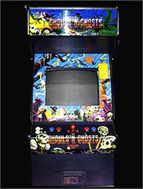 Arcade Cabinet for Ghouls'n Ghosts.