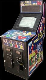 Arcade Cabinet for Gold Medalist.