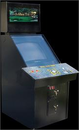 Arcade Cabinet for Golden Tee '97 Tournament.