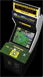 Arcade Cabinet for Golden Tee '98 Tournament.