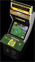 Arcade Cabinet for Golden Tee '99 Tournament.