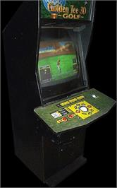 Arcade Cabinet for Golden Tee 3D Golf Tournament.