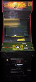 Arcade Cabinet for Golden Tee Supreme Edition Tournament.
