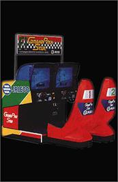 Arcade Cabinet for Grand Prix Star.