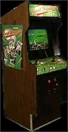 Arcade Cabinet for Great Sluggers.