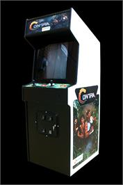 Arcade Cabinet for Gryzor.