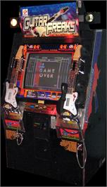Arcade Cabinet for Guitar Freaks.