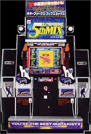 Arcade Cabinet for Guitar Freaks 5th Mix.