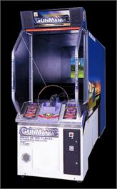 Arcade Cabinet for GunMania.