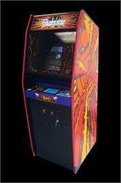 Arcade Cabinet for Gyruss.