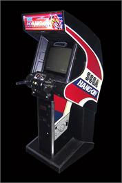 Arcade Cabinet for Hang-On.
