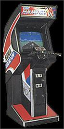 Arcade Cabinet for Hang-On Jr..
