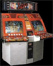 Arcade Cabinet for Hard Dunk.