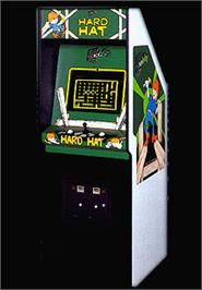 Arcade Cabinet for Hard Hat.