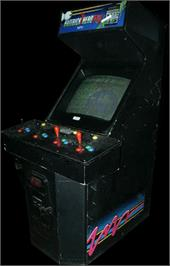 Arcade Cabinet for Hat Trick Hero '94.