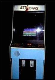 Arcade Cabinet for Herbie at the Olympics.