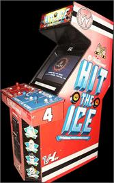 Arcade Cabinet for Hit the Ice.