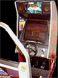 Arcade Cabinet for Hot Chase.