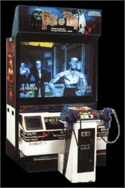 Arcade Cabinet for House of the Dead.