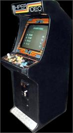 Arcade Cabinet for Hyper Pacman.