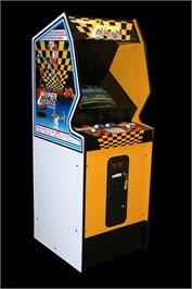 Arcade Cabinet for Hyper Sports.