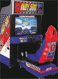 Arcade Cabinet for INDY 500 Deluxe.