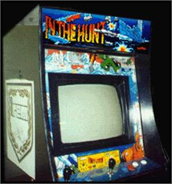 Arcade Cabinet for In The Hunt.