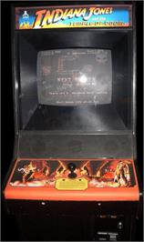 Arcade Cabinet for Indiana Jones and the Temple of Doom.