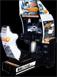 Arcade Cabinet for Initial D Arcade Stage.