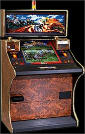 Arcade Cabinet for International Toote II.