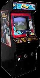Arcade Cabinet for Interstellar Laser Fantasy.