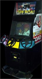 Arcade Cabinet for Ironman Ivan Stewart's Super Off-Road.