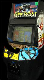 Arcade Cabinet for Ironman Ivan Stewart's Super Off-Road Track-Pak.