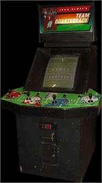 Arcade Cabinet for John Elway's Team Quarterback.