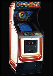 Arcade Cabinet for Jumping Jack.