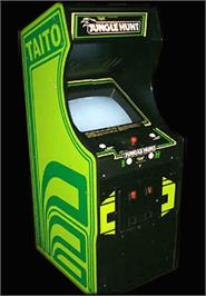 Arcade Cabinet for Jungle Hunt.