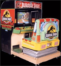Arcade Cabinet for Jurassic Park.