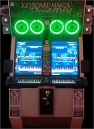Arcade Cabinet for Keyboardmania 2nd Mix.