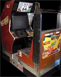 Arcade Cabinet for King of Route 66.