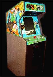 Arcade Cabinet for Knock Out!!.