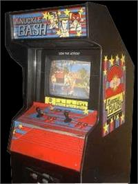 Arcade Cabinet for Knuckle Bash.