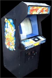 Arcade Cabinet for Krazy Bowl.