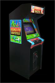 Arcade Cabinet for Kung-Fu Master.