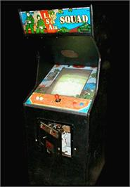 Arcade Cabinet for Land Sea Air Squad / Riku Kai Kuu Saizensen.