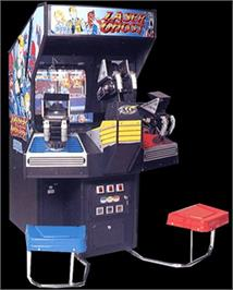 Arcade Cabinet for Laser Ghost.