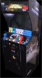 Arcade Cabinet for Lethal Enforcers.
