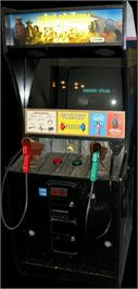 Arcade Cabinet for Lethal Enforcers II: The Western.